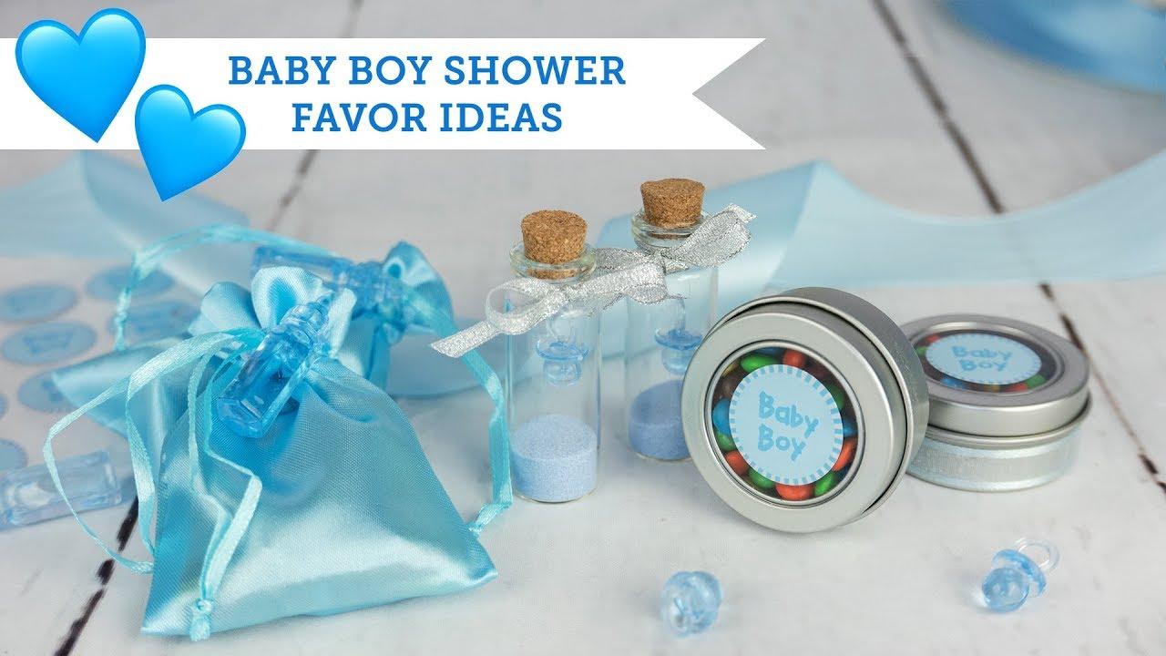 Baby Boy Shower Favor Ideas Balsacircle Com Youtube