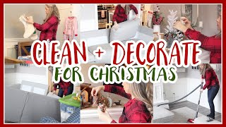 CLEAN + DECORATE WITH ME FOR CHRISTMAS 2019 🎄✨ CHRISTMAS HOME DECOR   Robyn Jeffery