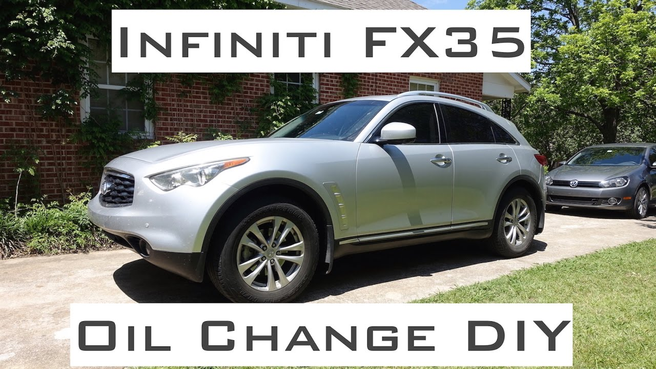Infiniti fx35 oil change diy 2009 2012 youtube infiniti fx35 oil change diy 2009 2012 vanachro Images