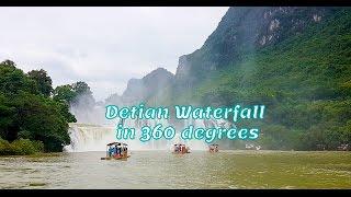 Video Detian Ban Gioc Waterfall in 360 degrees download MP3, 3GP, MP4, WEBM, AVI, FLV Juli 2018