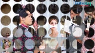 Toàn cảnh đám cưới của cặp đôi Trịnh Gia Dĩnh và Trần Khải Lâm