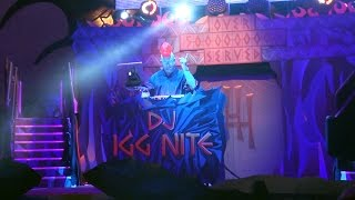 DJ IGG NITE Lights Up The Dark at VILLAINS UNLEASHED Dance Party! - DJ Elliot