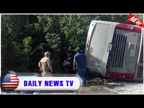 'foreign tourists' among 12 killed in mexico bus crash  Daily News TV