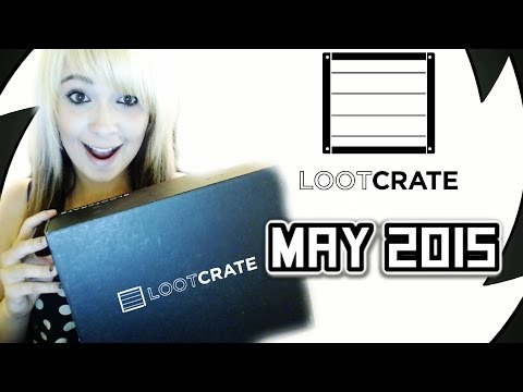 LOOTCRATE UNBOXING MAY 2015 UNITE THEME!