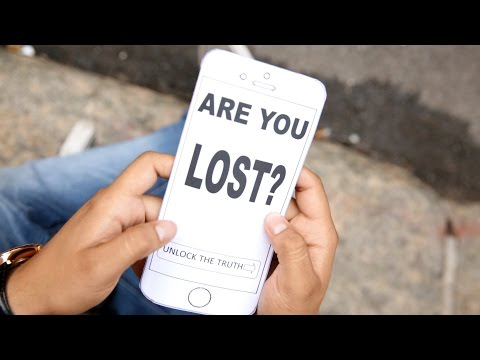 """Are you lost? """"St. Jobs Church"""""""