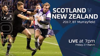 FULL MATCH REPLAY | Scotland V New Zealand | 2017