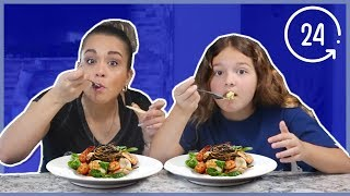 EATING WHAT MY MOM EATS FOR 24 HOURS !!! | SISTER FOREVER