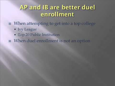 Can you explain to me the difference between high school AP and IB programs?