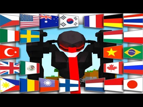 25 Boss Robots Nuclear War World Cup In Minecraft