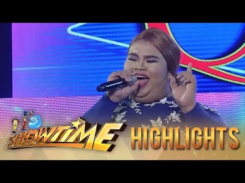It's Showtime Miss Q & A: Madlang people applauded after listening to Q&A contestant's voice