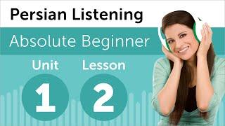Persian Listening Practice - At a Persian Restaurant