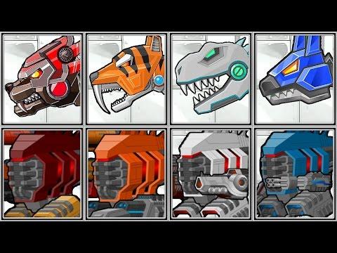 Dino Robot Corps | Super Mechs | Random Fights - Full Game Play - 1080 HD
