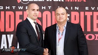 Bellator 160- Rory MacDonald speaks on leaving the UFC for Bellator MMA