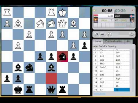 """1-minute tournament on ChessCube - """"Don't do it to me"""""""