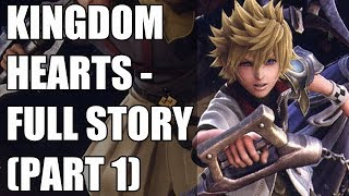Kingdom Hearts X And Birth By Sleep Story Explained - Before You Play Kingdom Hearts 3 (Part 1)