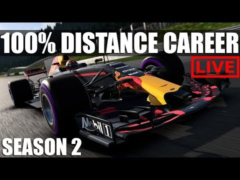 F1 2017 - 100% Distance Career Mode | Round 2: Shanghai  ** 50K SUBS BEFORE 2018? **