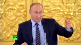 """Владимир Путин рассказал, как играл на пианино """"Мурку"""""""