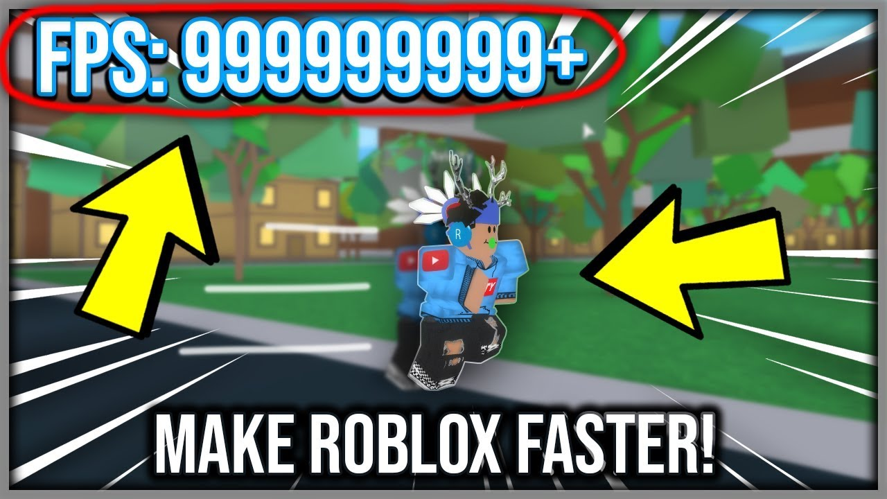 How To Unlock Your Fps On Roblox No More Lag Youtube