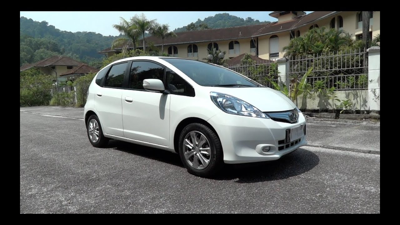 2012 honda jazz hybrid start up full vehicle tour and quick drive youtube. Black Bedroom Furniture Sets. Home Design Ideas
