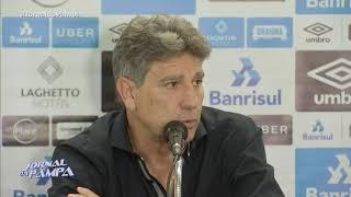 Dupla do ataque tricolor preocupa para semifinal da Libertadores | Jornal da Pampa | 16/10/2018
