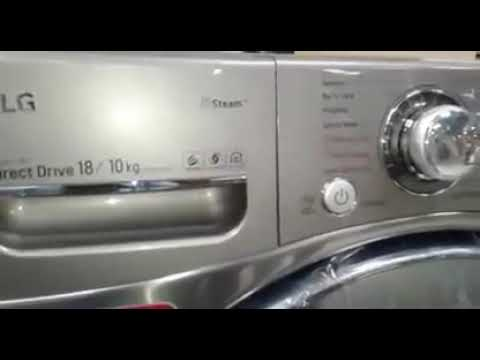 lg smart Wi-Fi washing machine