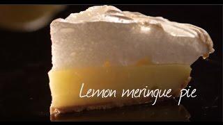 How to make lemon meringue pie  Video recipe