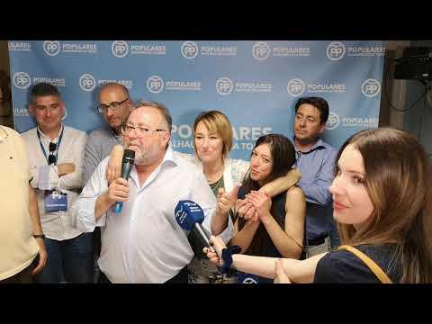 Joaquín Villanova revalida y amplía su mayoría absoluta, la sexta consecutiva