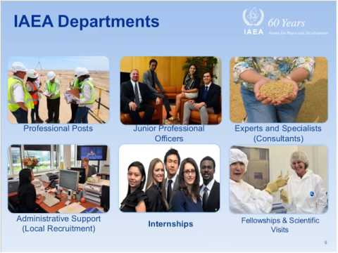 Internship Opportunities at the IAEA