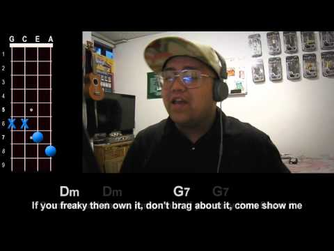 """Uptown Funk"" (Mark Ronson feat. Bruno Mars) Ukulele Play-Along!"