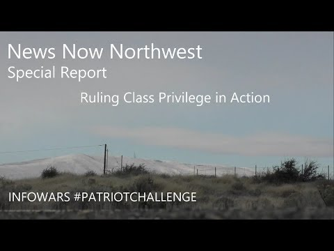 Infowars #PATRIOTCHALLENGE - Ruling Class Privilege In Action