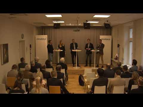 Paneldiskussion på Frivärlds rapportlansering 'Ett ensamt Europa?'