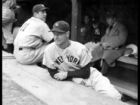 Babe Dahlgren Replaces Lou Gehrig