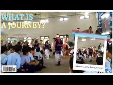 Karbi folk dance in Covenant high school 2018(covered with Hindi song)????