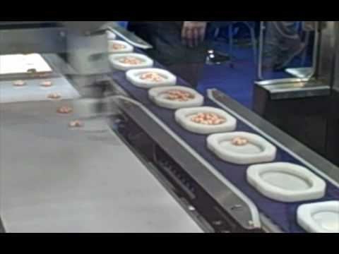 Food Machinery and Technology Exhibition: Gyoza machine and robotic arms