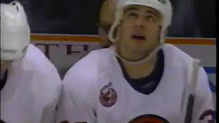 1993 Turgeon - Hunter incident ESPN feed - full sequence