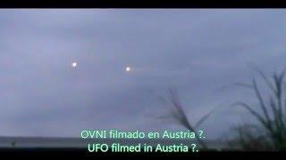 Ovni filmado en Austria