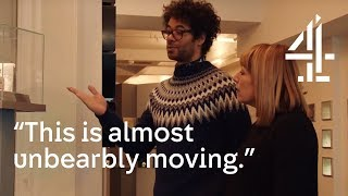 """I Can't Do This, This Is Horrific!"" Richard Ayoade Saddened By Museum With Fay Ripley 
