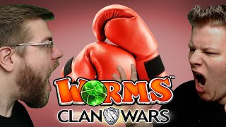 Nur Nahkampf 🎮 Worms Clan Wars