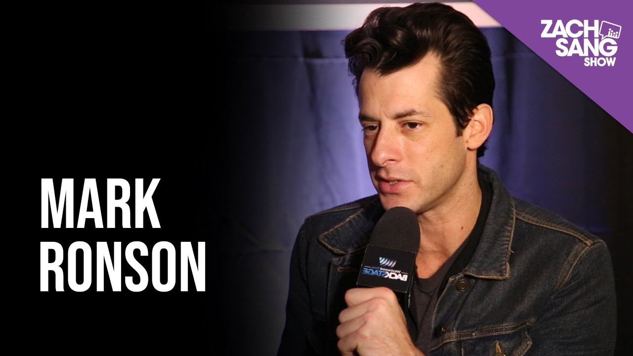 Mark Ronson talks Howard Stern, Lady Gaga and new album