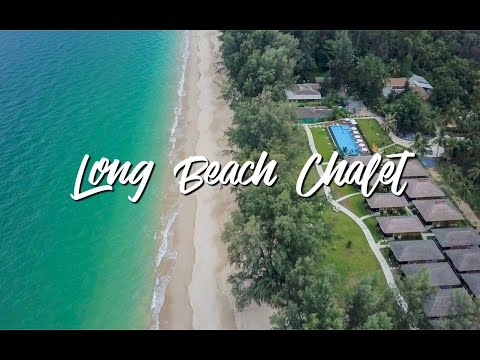 Long Beach Chalet Koh Lanta Krabi Thailand⎜DRONE 4k