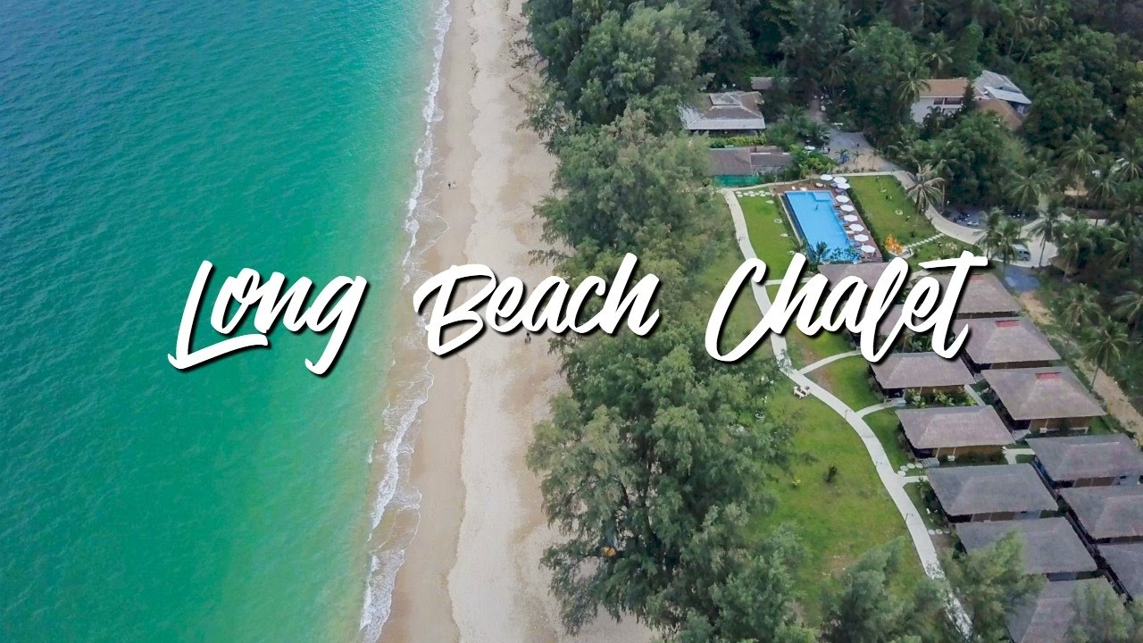 Long Beach Chalet Koh Lanta Krabi Thailand Drone 4k