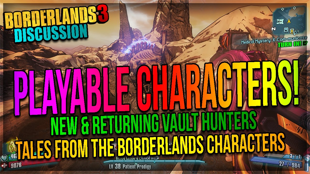 Borderlands 3 Discussion: Playable Characters! (New