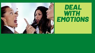 How To Handle My Emotions/Emotional Intelligence