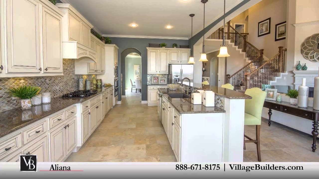 Aliana community village builders houston youtube for Houston home designers