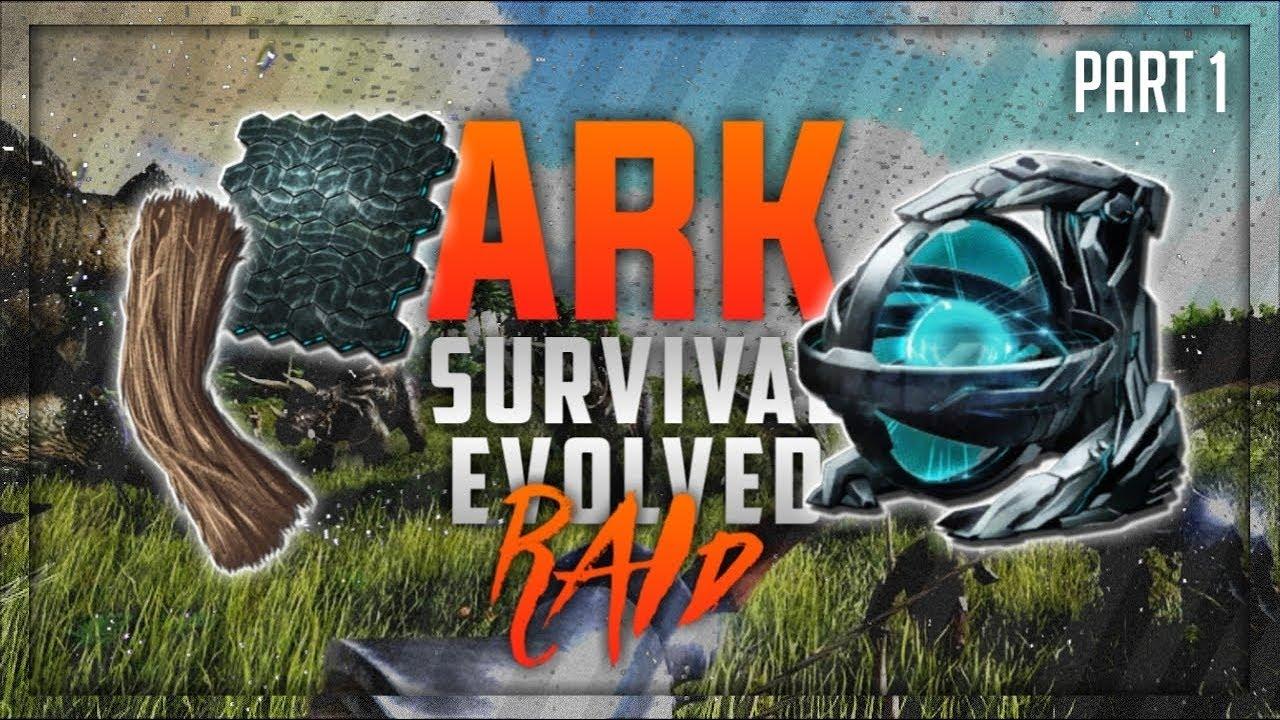 First Raid Of A Fiber Craft Server Ark Survival Evolved Part 1 Hindi Youtube