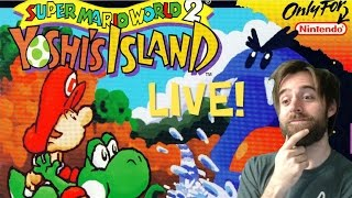Super Mario World 2 Yoshi's Island Longplay | Part 1 | Worlds 1 & 2 (SNES)