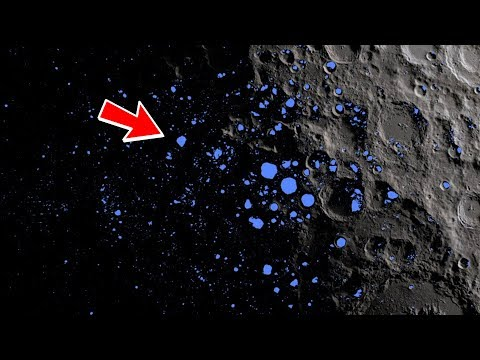 Mysterious Matter Discovered On The Moon! *Scary*