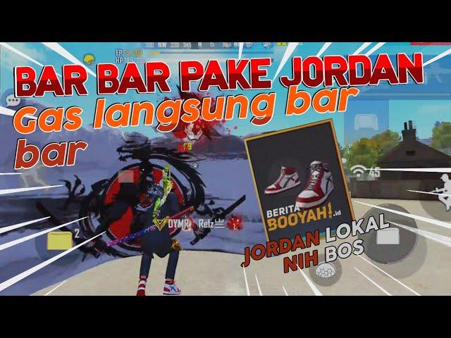 REVIEW JORDAN AUTO NGAMUK DI BERMUDA BAR BAR 12 KILL JORDAN LOKAL NIH BOS YAHAHA 🤣?!