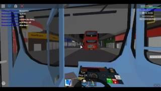 Roblox North London bus Simulator Gemini 2 Ibrido Arriva Londra (bianco) Route 141