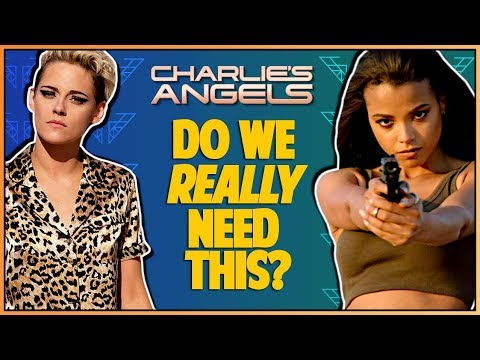 CHARLIE'S ANGELS 2019 MOVIE TRAILER REACTION - Double Toasted Reviews